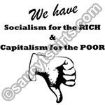 socialism for the rich t shirt