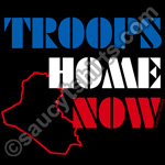 troops home now t-shirt