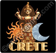 crete greece t shirt snake goddess