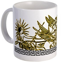 helios greece mug