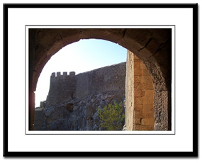 lindos rhodes framed print photography