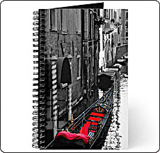 venice gondola journal