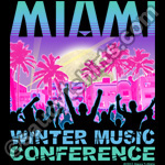 miami winter music conference t shirt