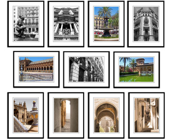 Spain framed print collection