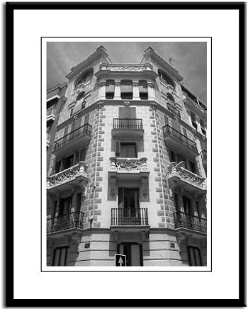 barcelona framed photo photography print