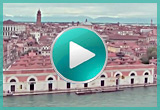 video of venice seen from a ship